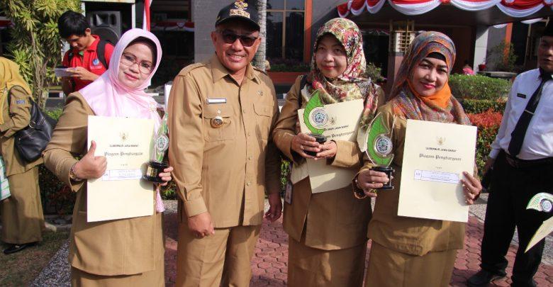 SMPN 5 Depok Raih Penghargaan Adiwiyata Jabar 2018
